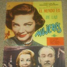 Cine: COLECCION GRANDES PELICULAS Nº 21 - MANDOLINA 1959 -ORIGINAL EN BUEN ESTADO LEER. Lote 93002770