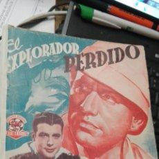Cine: EL EXPLORADOR PERDIDO, EDICIONES ESPECIALES CINEMATOGRÁFICAS. Lote 93656208