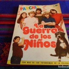 Cine: PARCHÍS LA GUERRA DE LOS NIÑOS LIBRO CON GUIÓN Y ADAPTACIÓN ILUSTRADO. BARLOVENTO 1980. BE Y RARO.. Lote 94425052