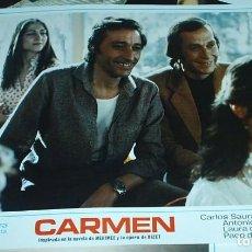 Cine: CARMEN JUEGO DE LAS 18 CARTELERAS DE LA PELICULA DE SAURA 1983- PACO DE LUCIA- GADES - VER FOTOS. Lote 94458034