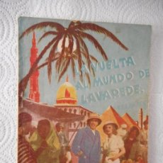 Cine: LA VUELTA AL MUNDO DE LAVAREDE. FERNANDEL. CONTINENTAL FILMS. NOVELA CINE ILUSTRADA. 68 PÁG. 1940. Lote 95301103