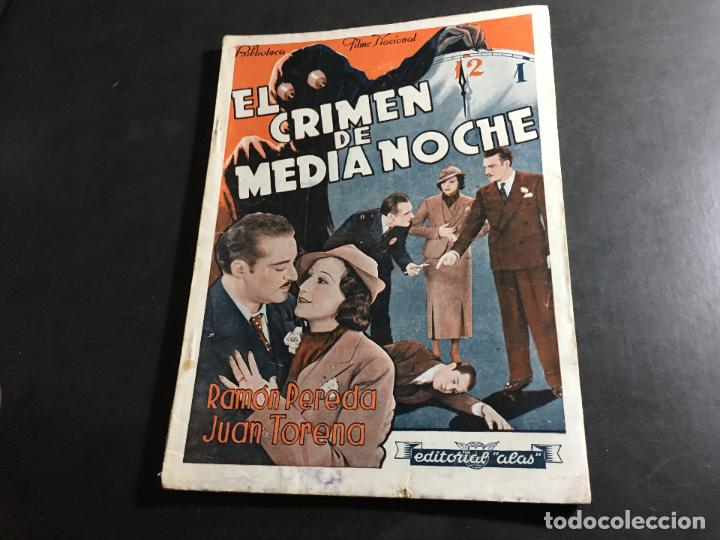EL CRIMEN DE MEDIA NOCHE RAMON PEREDA, JUAN TORENA (COI34) (Cine - Foto-Films y Cine-Novelas)