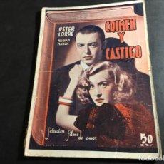 Cine: CRIMEN Y CASTIGO (PETER LORRE, MARIAN MARS) (COI34). Lote 95419179