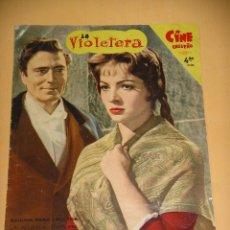 Cine: LA VIOLETERA, FASCICULO Nº 1, SARA MONTIEL, CINE ENSUEÑO, FOTONOVELA, ERCOM . Lote 95890763