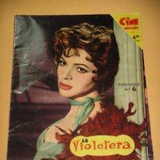 Cine: LA VIOLETERA, FASCICULO Nº 6, SARA MONTIEL, CINE ENSUEÑO, FOTONOVELA, ERCOM. Lote 95891203