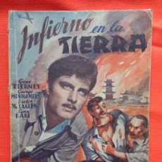 Cine: INFIERNO EN LA TIERRA, EDIC. BISTAGNE SERIE TRIUNFO, GENE TIERNEY, GEORGE MONTGOMERY, 66 PÁG.. Lote 97151975