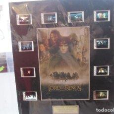 Cinema: LORD OF THE RINGS SEÑOR DE LOS ANILLOS FOTOGRAMAS ORIGINALES EDICION LIMITADA. Lote 97738403