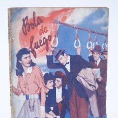 Cine: SERIE TRIUNFO 2,5 PTAS. BOLA DE FUEGO. GARY COOPER, BARBARA STANWYCK. BISTAGNE, 1940'S. Lote 97897796