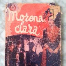 Cine: MORENA CLARA, CINE-NOVELA, POR IMPERIO ARGENTINA, 1936. Lote 99110975