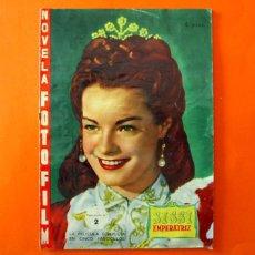 Cine: SISSI EMPERATRIZ - FASCICULO Nº 2 - NOVELA FOTOFILM - EDICIONES SUEÑOS ROSADOS 1958. Lote 99935555