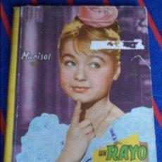 Cine: UN RAYO DE LUZ. MARISOL. COLECCION CINEXITO. EDITORIAL FELICIDAD, 1961. TAPA DURA. 60 PAGINAS. 200 G. Lote 100746823
