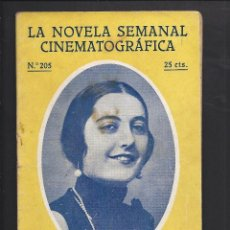 Cine: LA NOVELA CINEMATOGRÁFICA. NÚM 205 . GALLEGUITA.. Lote 101125631