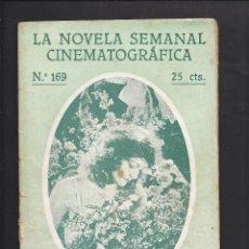 Cine: LA NOVELA CINEMATOGRÁFICA. NÚM 169. LAS LUCES DE BROADWAY. Lote 101125667