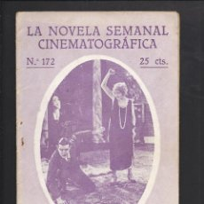 Cine: LA NOVELA CINEMATOGRÁFICA. NÚM 172. INOCENCIA. Lote 101125715