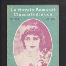 Cine: LA NOVELA CINEMATOGRÁFICA. NÚM 114 LA ISLA MALDITA POR CORINNE GRIFFITH.. Lote 101125847