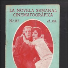 Cine: LA NOVELA CINEMATOGRÁFICA. NÚM 157 MI TÍO POR RENÉ NAVARRE. Lote 101125891
