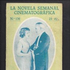 Cine: LA NOVELA CINEMATOGRÁFICA. NÚM 136 LA CARTA POR LEWIS STONE. Lote 101125943