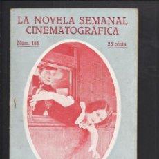 Cine: LA NOVELA CINEMATOGRÁFICA. NÚM 186 ¡DISPENSE USTED! POR NORMA SHEARER,CONRAD NAGEL, ETC.. Lote 101126043