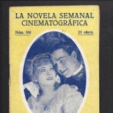 Cine: LA NOVELA CINEMATOGRÁFICA. NÚM 190. LA NEGATIVA POR CLAIRE WINDSOR Y WILLIAM HAINES. Lote 101126155