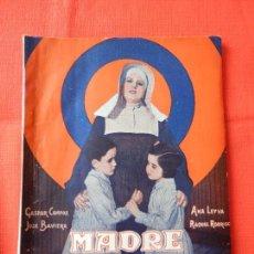 Cinéma: MADRE ALEGRIA, NOVELA EDICIONES BISTAGNE, GASPAR CAMPOS ANA LEYVA. Lote 103075683