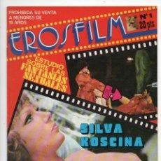 Cine: EROSFILM Nº 1 - SILVA KOSCINA EN ABSOLUTAMENTE NORMAL - ROSALBA NERI. Lote 103609811
