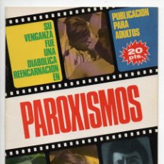 Cine: PAROXISMOS - BARBARA STEELE - MICHAEL GAYAN. Lote 103611411