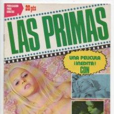 Cine: LAS PRIMAS - LISA SEAGRAM - MAURIZIO BONUGLIA. Lote 103611803