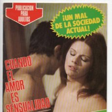 Cine: CUANDO EL AMOR ES SENSUALIDAD - AGOSTINA BELLI - GIANNI MACCHIA. Lote 103612579