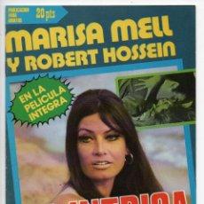 Cine: LA INTRIGA - MARISA MELL - ROBERT HOSSEIN. Lote 103612691