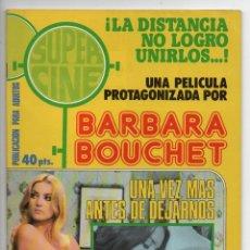 Cine: SUPERCINE - UNA VEZ MÁS ANTES DE DEJARNOS - BARBARA BOUCHET - ANTONIA SANTILLI. Lote 103612879