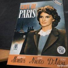 Cine: CAFE DE PARIS CONCHITA MONTES ALBUM CINEVIDA 24X17 (ED HISPANO AMERICANA) (COI53). Lote 106099491