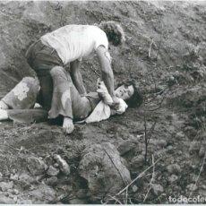 Cinema: G180- PRECIOSA FOTOGRAFIA - ORIGINAL DE - UNA ESCENA DEL - EL DIOS DE LA MUERTE ASESINA OTRA VEZ. Lote 107191087