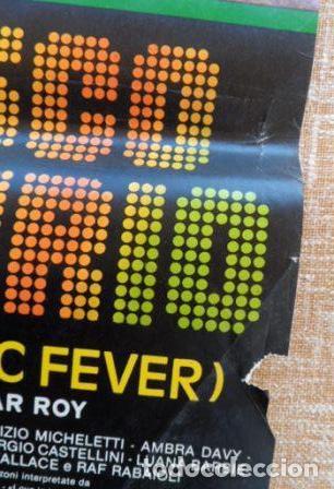Cine: Disco Music Fever (Disco Delirio), Italian Photobusta, Folded, 1979, Oscar Roy - Foto 3 - 110051923