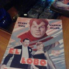 Cine: EL LOBO HUMANO. AÑOS 30/40. Lote 110245371