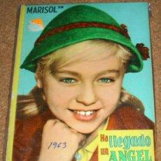 Cine: MARISOL-HA LLEGADO UN ANGEL-CINEXITO 2- EDIT.FELICIDAD 1963 ORIGINAL -FOTOS PELICULA Y TEXTO. Lote 110305127