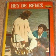 Cine: REY DE REYES-CINEXITO 3- EDIT.FELICIDAD 1962 ORIGINAL CON GUARDAS -FOTOS PELICULA Y TEXTO. Lote 110308311