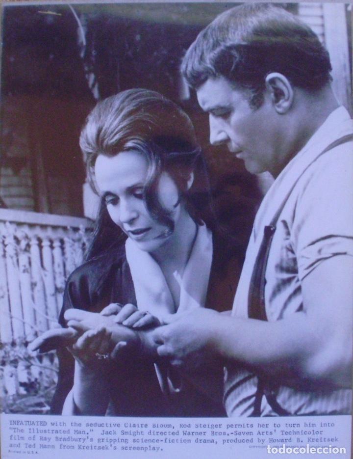 PHOTO PRINT ,THE ILLUSTRATED MAN , INFATUATED , CLAIRE BLOOM, U.S.A. , 1969 (Cine - Foto-Films y Cine-Novelas)