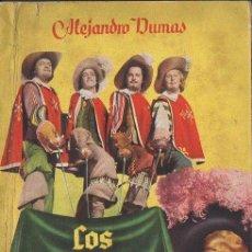 Cine: ALEJANDRO DUMAS : LOS TRES MOSQUETEROS (AYMÁ, 1949) CON FOTOS DEL FILM. Lote 111744611