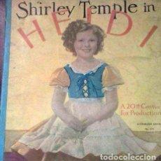 Cine: SHIRLEY TEMPLE IN HEIDI -FOX- AÑO 1937. Lote 112132911