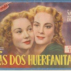 Cine: CINEVIDA. LAS DOS HUERFANITAS. H.AMERICANA.14 P.P. CON FOTOGRAFÍAS DE LA PELÍCULA.. Lote 112425531
