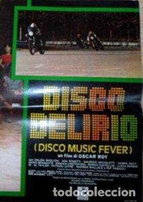 Cine: Disco Music Fever (Disco Delirio), Italian Photobusta, Folded, Dalida Baglioni - Foto 4 - 113118263