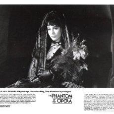 Cine: ROBERT ENGLUD (FOTO ORIGINAL B/N 20X25 AMERICANA )THE PHANTOM OF THE OPERA. Lote 114517103