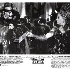 Cine: ROBERT ENGLUD (FOTO ORIGINAL B/N 20X25 AMERICANA )THE PHANTOM OF THE OPERA. Lote 114517147