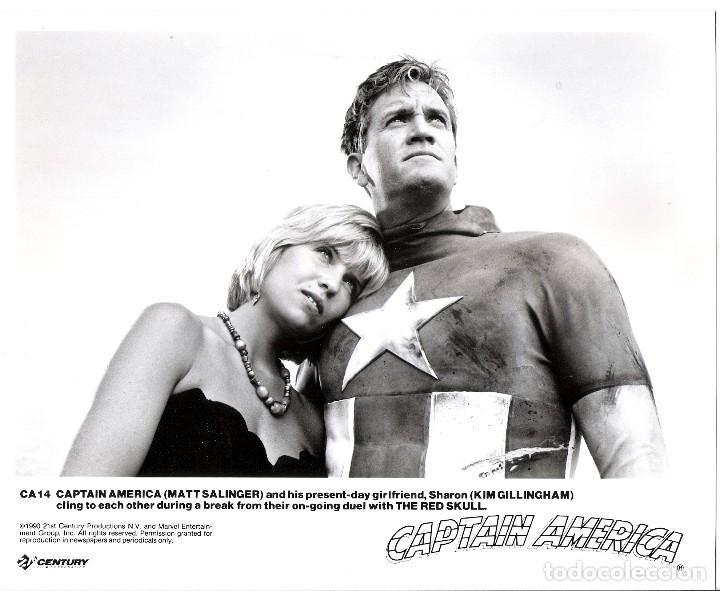 FOTO ORIGINAL B/N (20X25) CAPITAN AMERICA (Cine - Foto-Films y Cine-Novelas)