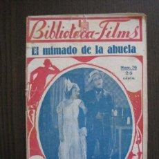 Cine: HAROLD LLOYD - EL MIMADO DE LA ABUELA - BIBLIOTECA FILMS -VER FOTOS-(V-13.746). Lote 114794315