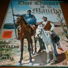 Cine: DON QUIJOTE DE LA MANCHA - FOTO NOVELA - R. RIVELLES Y J. CALVO - EDITORPRESS, MADRID,1968.. Lote 115604059