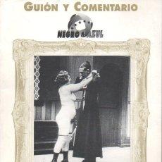 Cine: GUIÓN Y COMENTARIO NEGRO & AZUL : EL CONFESOR. Lote 116232071