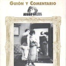 Cine: GUIÓN Y COMENTARIO NEGRO & AZUL : EL MINISTRO. Lote 116232111