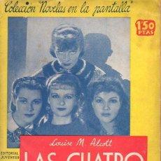 Cine: ALCOTT : LAS CUATRO HERMANITAS (JUVENTUD, 1934) CON FOTOS DEL FILM DE KATHARINE HEPBURN. Lote 117257331