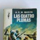 Cine: LAS CUATRO PLUMAS A. E.W. MASON. Lote 117951246